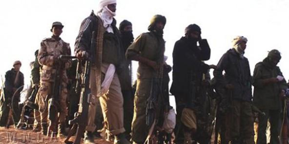 Photo fournie par le Mouvement national de libération de l'Azawad (MNLA). © AFP