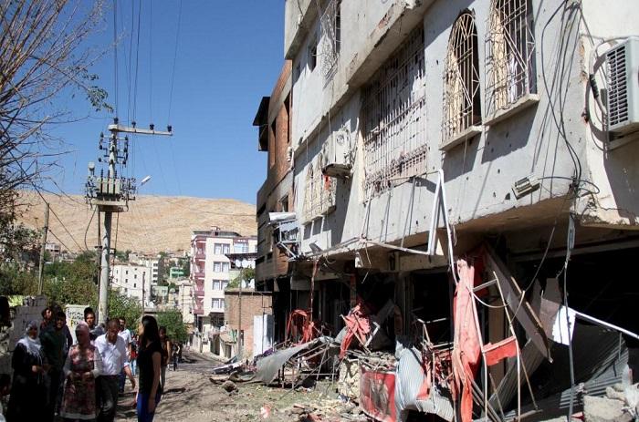 Turquie: des scènes de désolation après les opérations de l'armée