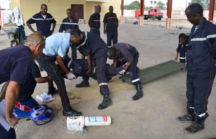 Meurtre de Cherif Ndao : 7 sapeurs-pompiers  envoyés aux assises