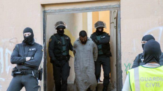 Maroc-Espagne : 14 djihadistes arrêtés