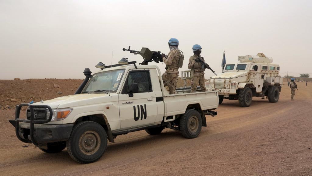 Des soldats de la Minusma en patrouille à Kidal, le 23 juillet 2015. REUTERS/Adama Diarra