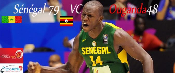 Afrobasket 2015: Sénégal valide son ticket pour les quarts de finale