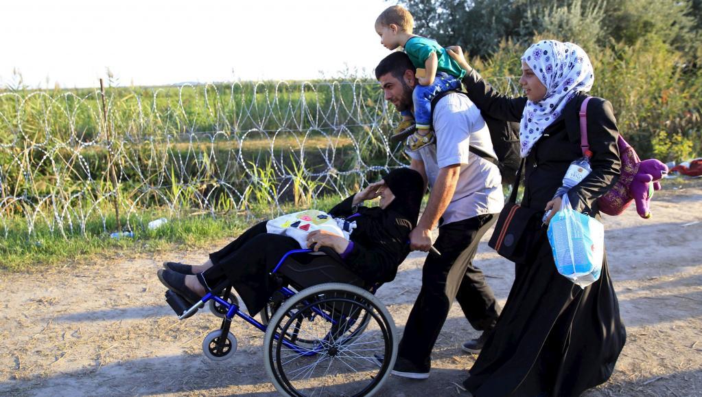 Europe centrale: face à l'afflux de migrants, chacun joue sa partition