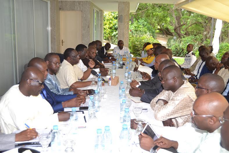 Poponguine: Macky à coeur ouvert avec les DG, le groupe Bin Laden l'absent le plus présent