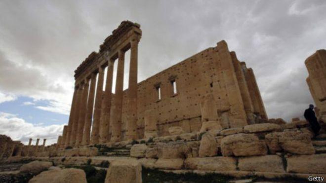 Que reste-t-il du Temple de Bel ?