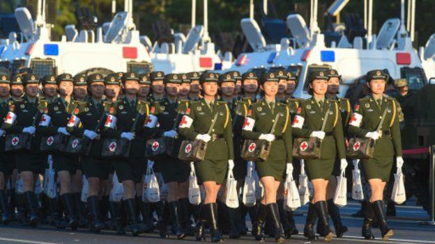 Pékin célèbre la capitulation du Japon