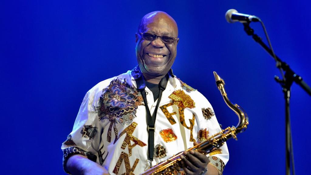 C'est la première fois qu'un musicien mondialement reconnu, Manu Dibango est nommé «Grand Témoin» de la Francophonie pour des JO. Edmond Sadaka/RFI