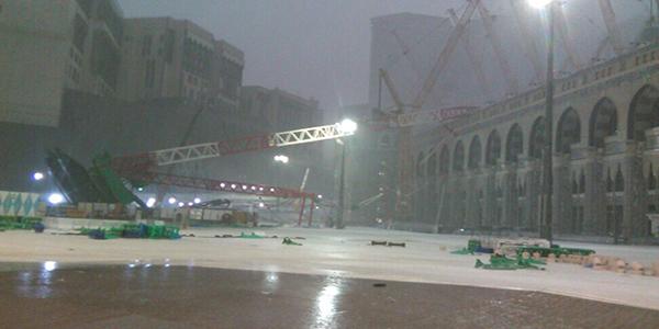 La Mecque : 65 fidèles tués dans la chute d'une grue sur la Grande mosquée