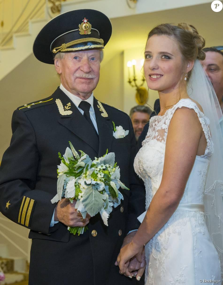 Ivan Krasko, star russe de 84 ans, a épousé Natalya Shevel... 24 ans !