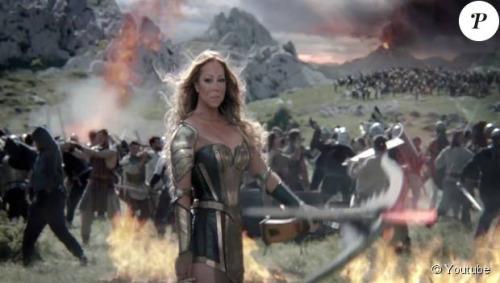 Mariah Carey : La diva transformée en plantureuse guerrière