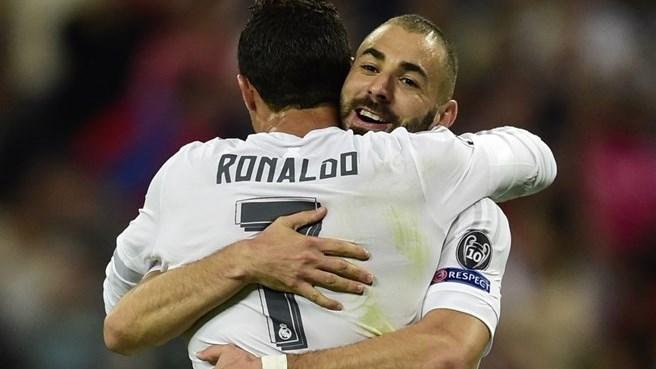 Benzema dans le top 10, Ronaldo à 80
