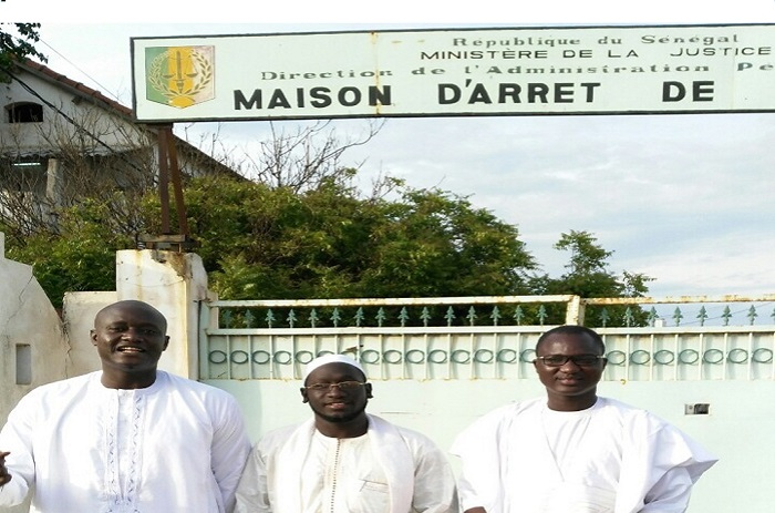 Rebeuss : les jeunes Mbacké-Mbacké au chevet de Karim Wade