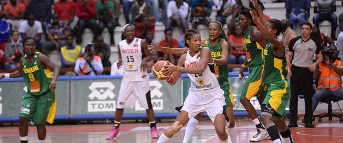 Afrobasket 2015 féminin : Les «Lionnes» démarrent avec un choc contre l'Angola
