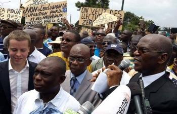 """L'opposition ivoirienne """"ne boycottera pas la présidentielle, mais ne laissera pas faire si les conditions ne sont pas remplies"""""""