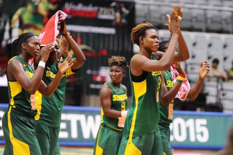"""Afrobasket féminin 2015: les """"Lionnes"""" valident leur ticket pour les 1/4"""