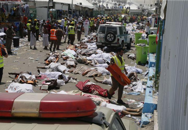Dernière minute-Bousculade meurtrière à Mina:  7 morts, 18 blessés et 52 portés disparus