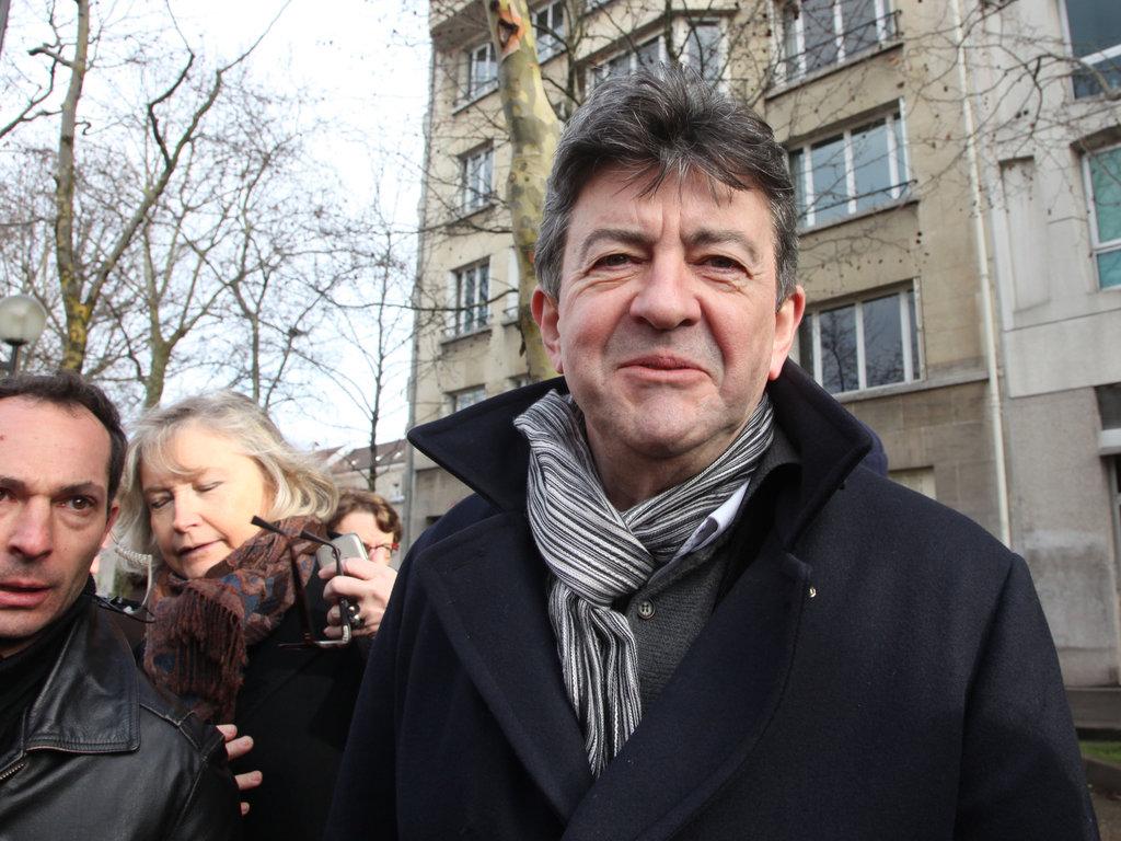 APRÈS LE DÉRAPAGE DE NADINE MORANO, JEAN-LUC MÉLENCHON DÉFEND LAURENT RUQUIER