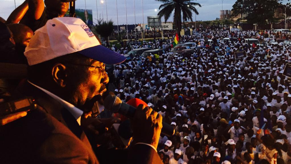 Démonstration de force de Sidya Touré à Conakry