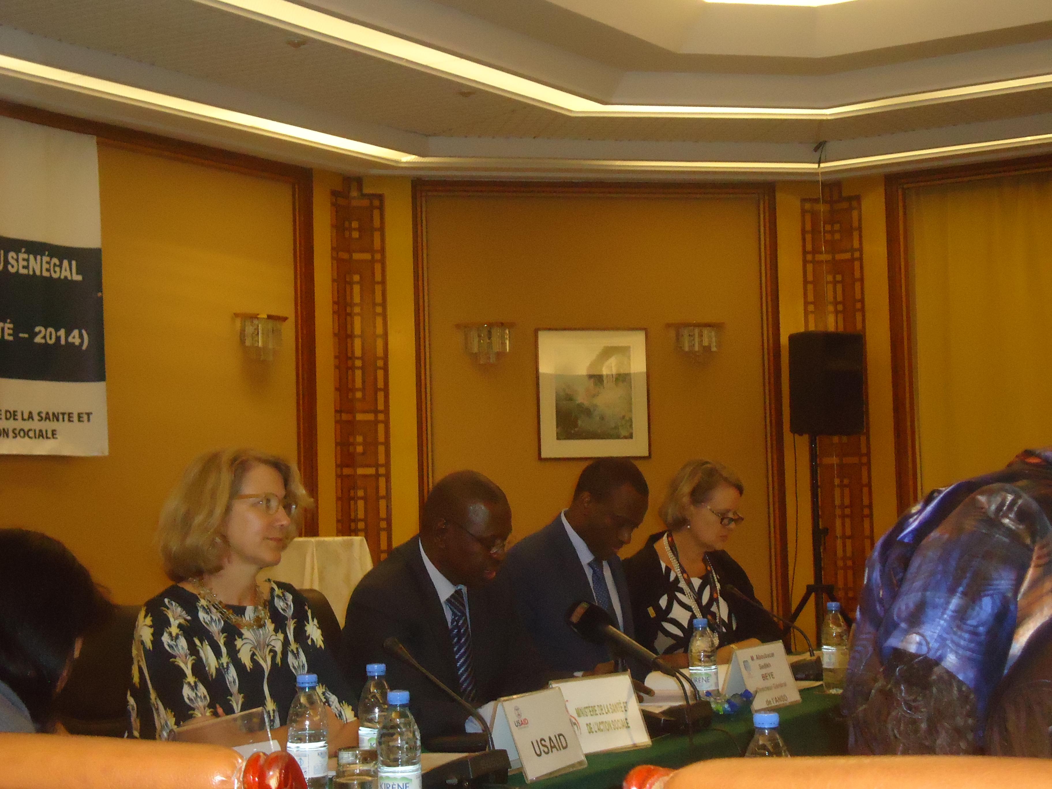 ANSD - soins prénatals: Dakar et Ziguinchor et pôle position, Kaffrine et Tamba à la traine