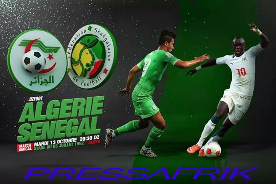 """Rencontres Algérie - Sénégal: les """"Lions"""" menés 10 à 4"""