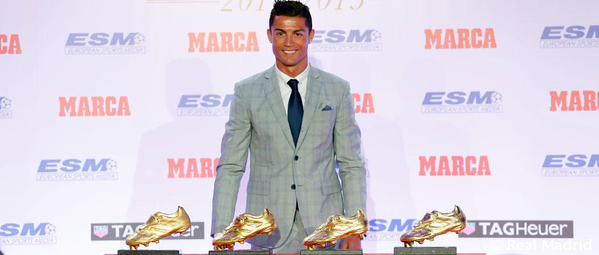 Real Madrid : Cristiano Ronaldo savoure son 4e Soulier d'Or et affiche ses énormes ambitions