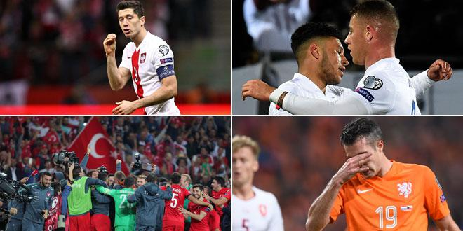 Les stars au rendez-vous, l'Angleterre, Lewandowski, le bilan des éliminatoires de l'Euro 2016
