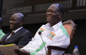 Présidentielle ivoirienne: Ouattara promet investir plus de 20.000 milliards FCFA de 2016 à 2020