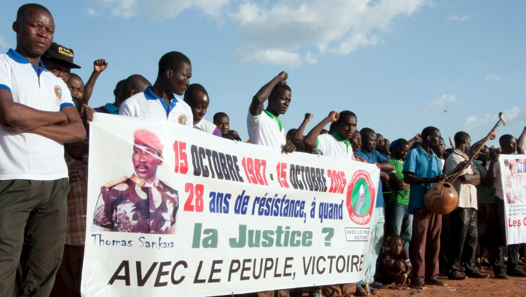 Burkina: le 28e anniversaire de la mort de Thomas Sankara commémoré