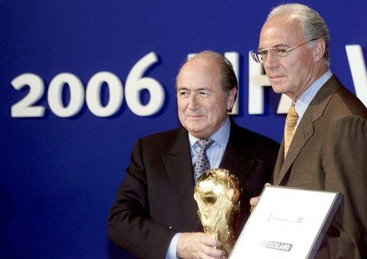 FIFA : l'Allemagne soupçonné  d'avoir acheté son mondial.