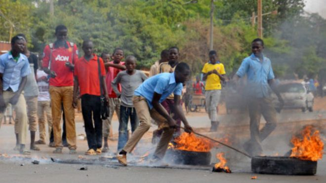 Violentes manifestations à Niamey