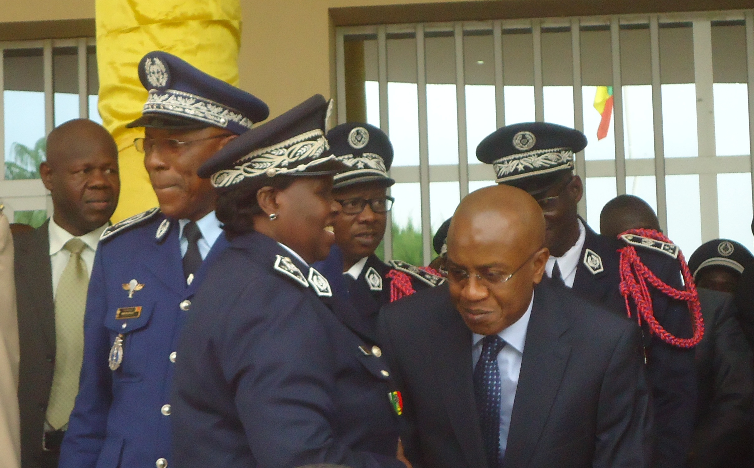 Police nationale: les émouvants adieux d'Anna Sémou Faye