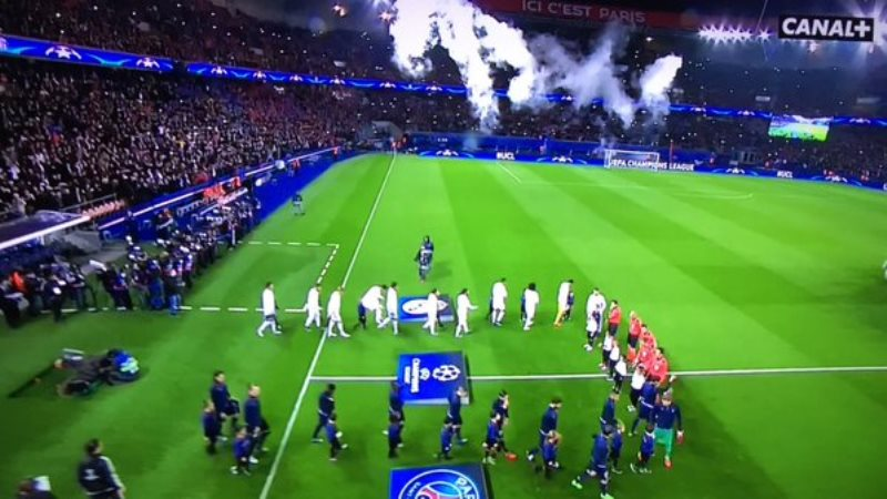 Direct C1 PSG vs Real Madrid: l'ambiance monte au Parc des Princes