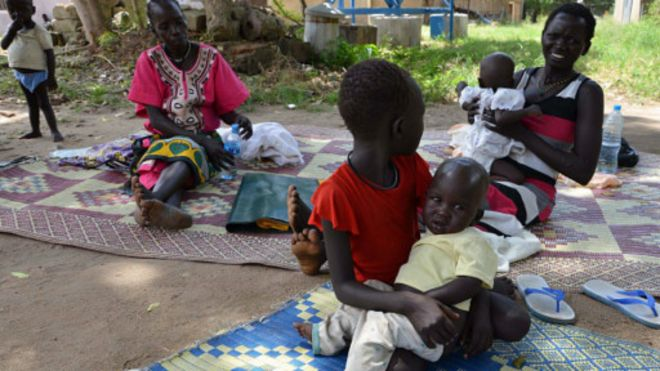 Risque de famine au Soudan du Sud