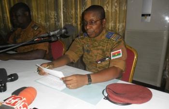 """Burkina : les Forces armées annoncent cinq millions F CFA pour """"soutenir"""" les victimes du putsch manqué"""