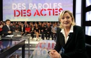 Marine Le Pen boude France 2 : une annulation à 400.000 euros
