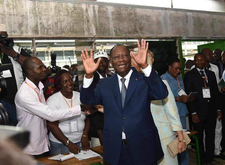 Côte d'Ivoire - Présidentielle: Alassane Ouattara reconduit avec 84 % des voix