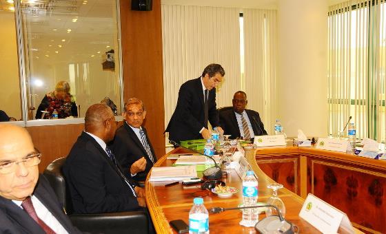 Présidence FIFA : Quatre candidats reçus par la CAF