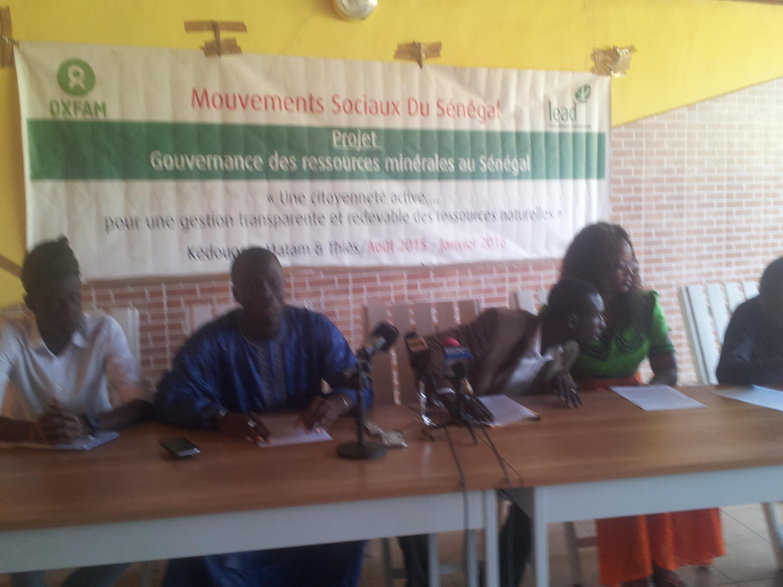 Mauvaise exploitation des ressources du Sénégal : la Cos M23 dénonce le silence de l'Etat.