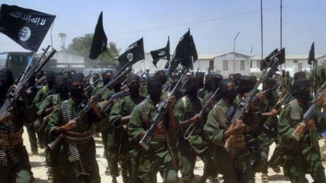 Les combattants d'al Shabab