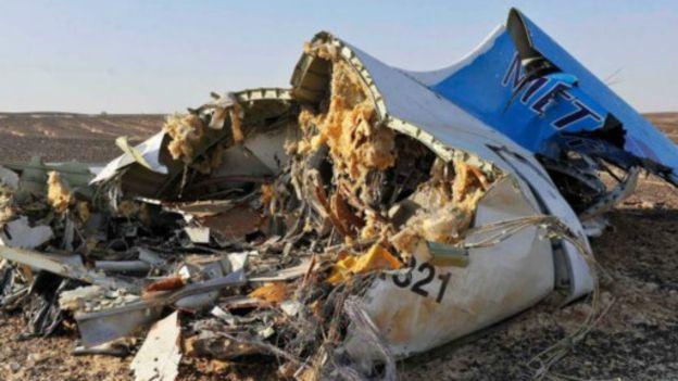 """Crash en Egypte : cause """"extérieure"""""""