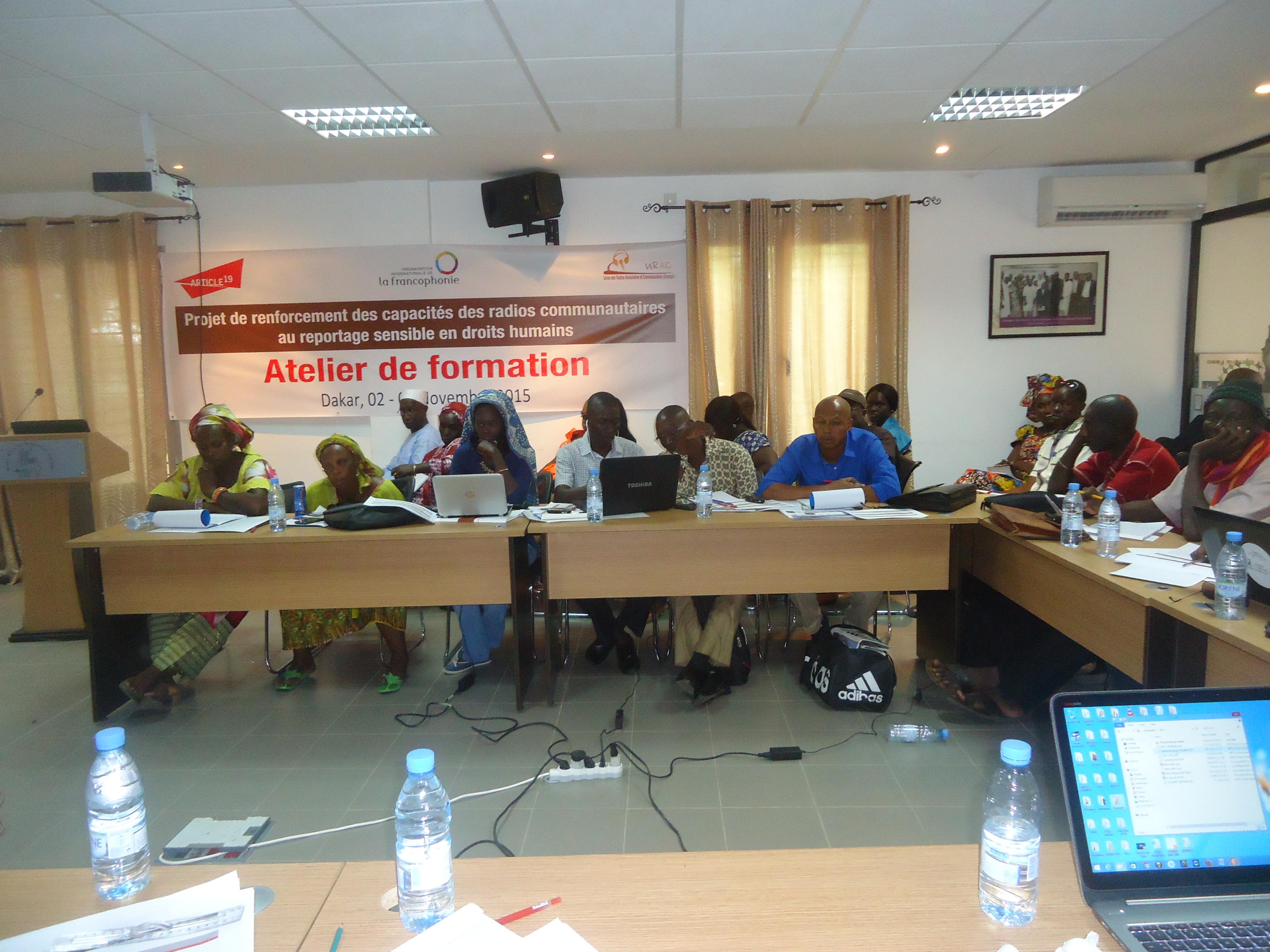 Les radios communautaires renforcent leurs capacités en droits humains