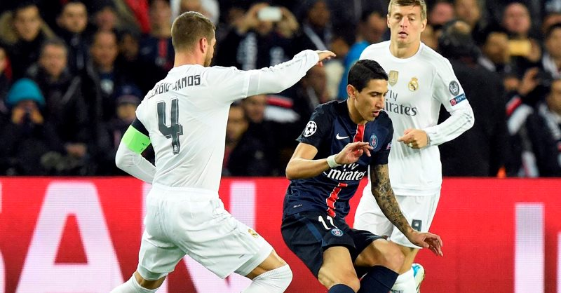 Direct C1 4e j. match retour Real vs PSG: la manche de vérité