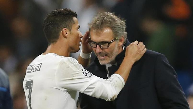 Quand Cristiano Ronaldo murmure à l'oreille de Laurent Blanc