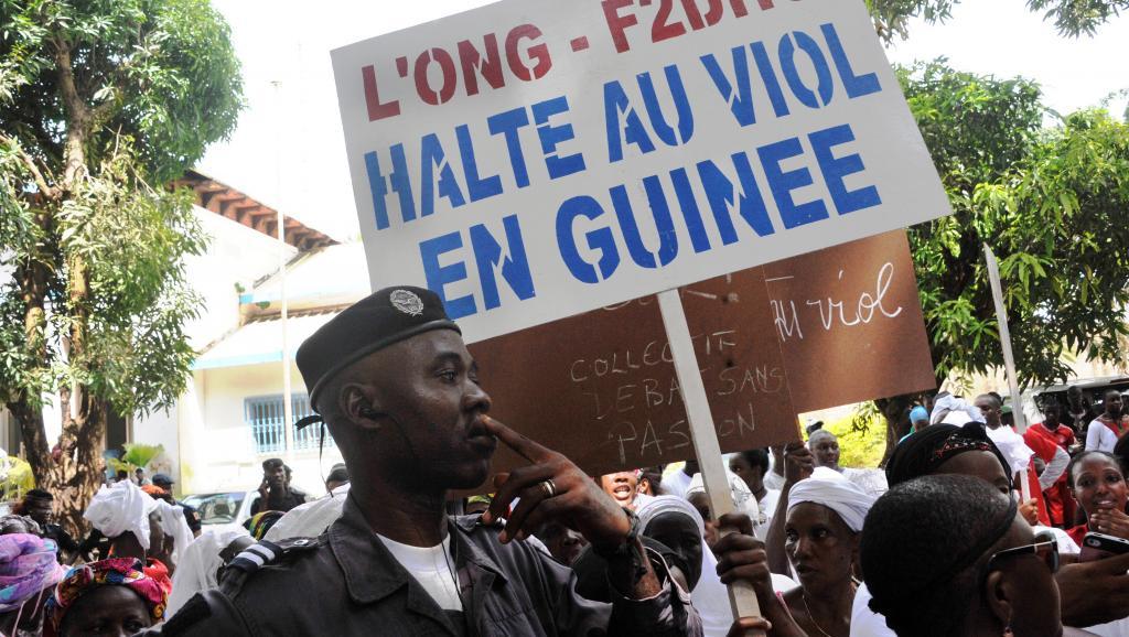 Les Guinéennes manifestent contre les violences sexuelles