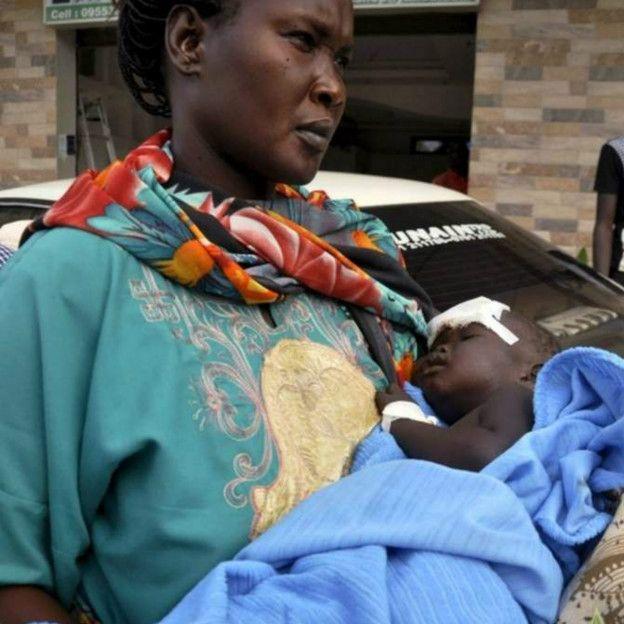 Un bébé survit à un crash à Juba