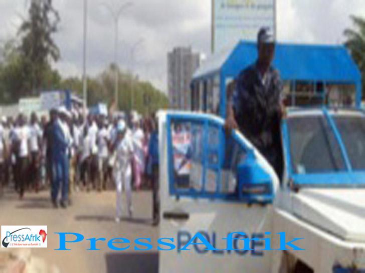 TOGO: 5 morts dans des heurts entre manifestants et policiers
