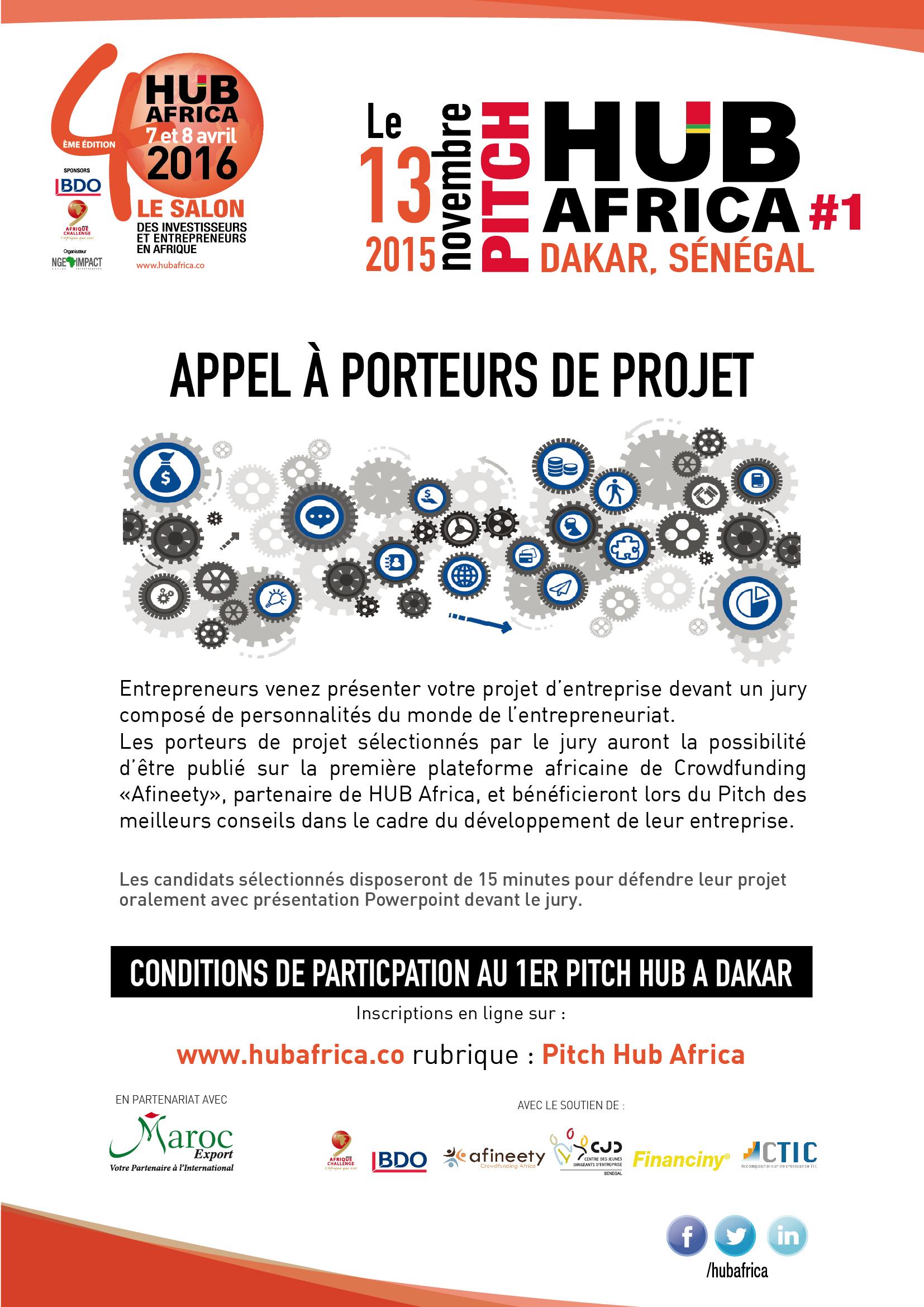 Coup d'accélérateur aux échanges économiques et commerciaux, le 1er Pitch Hub Africa lancé le 13 novembre prochain