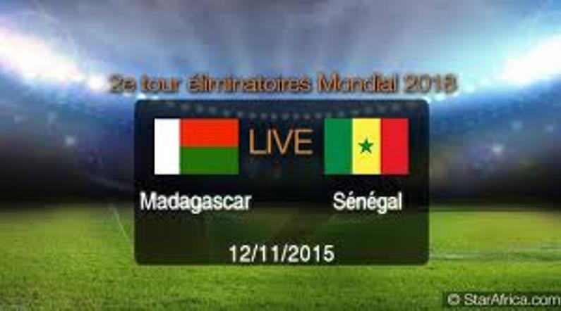 """Madagascar 2-2 Sénégal- Préliminaires mondial 2018: les """"Lions"""" frôlent l'humiliation"""