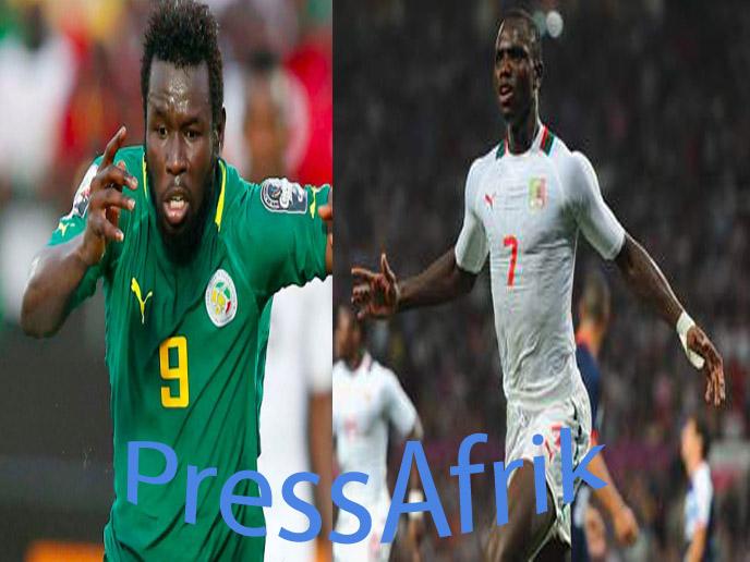 Duo d'attaque des Lions: Diouf et Konaté plus séduisant