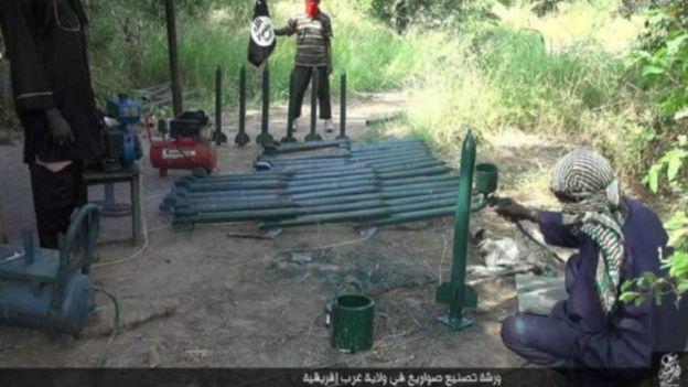 Une usine d'armes de Boko Haram détruite